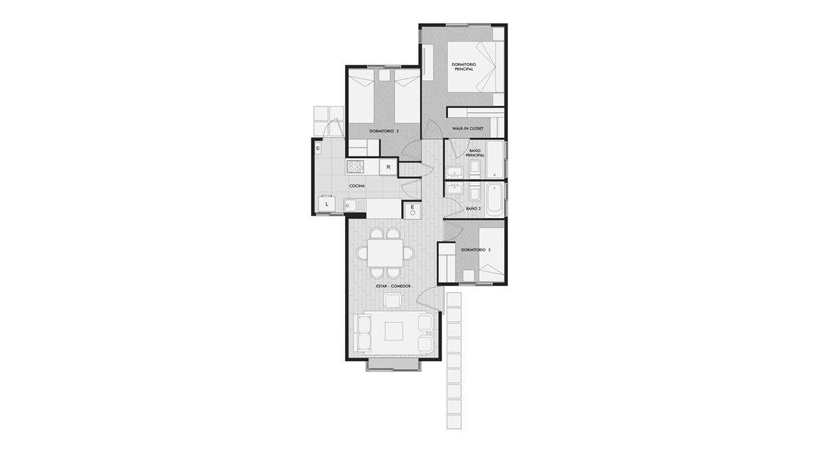Condominio Aires del Sur - Casa Puyehue
