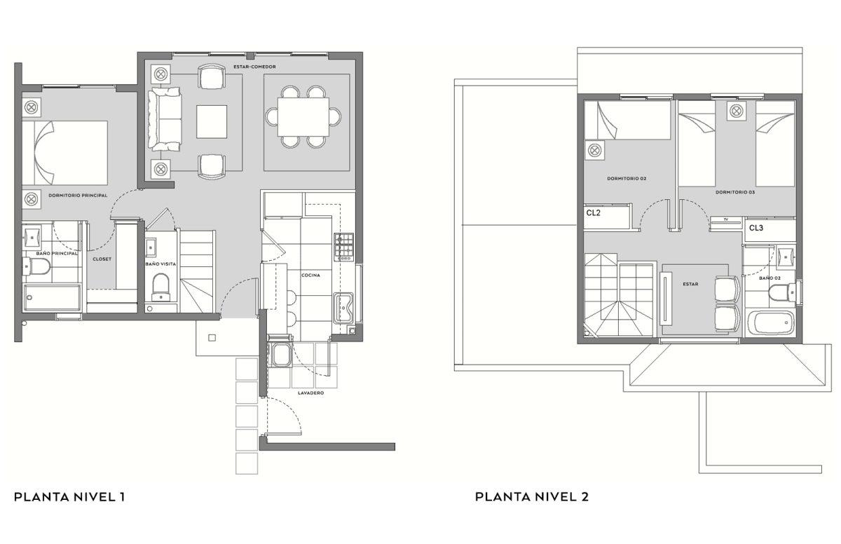 Condominio Aires de Buin - Casa A