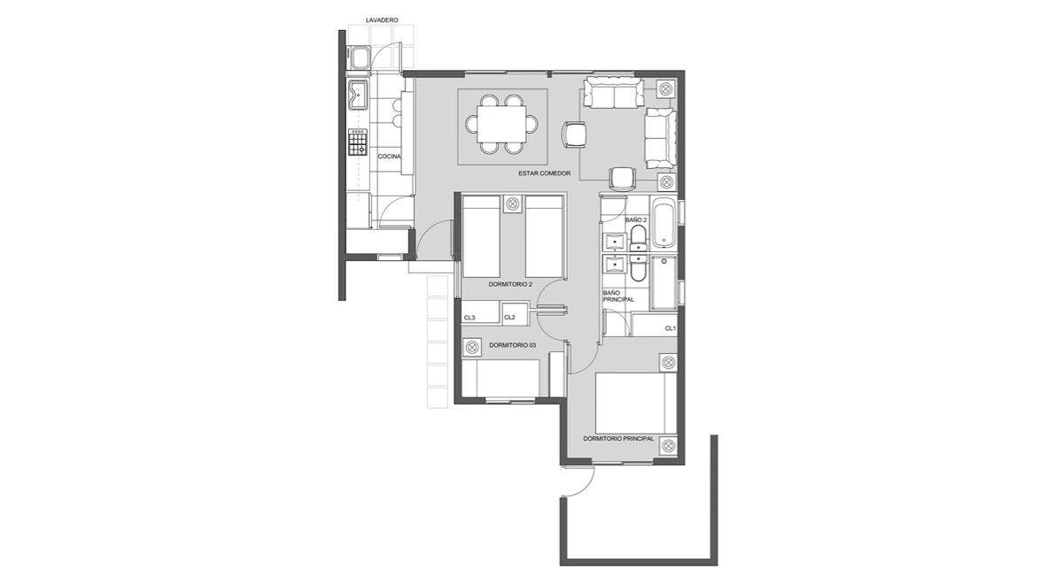 Condominio Aires de Buin - Casa B
