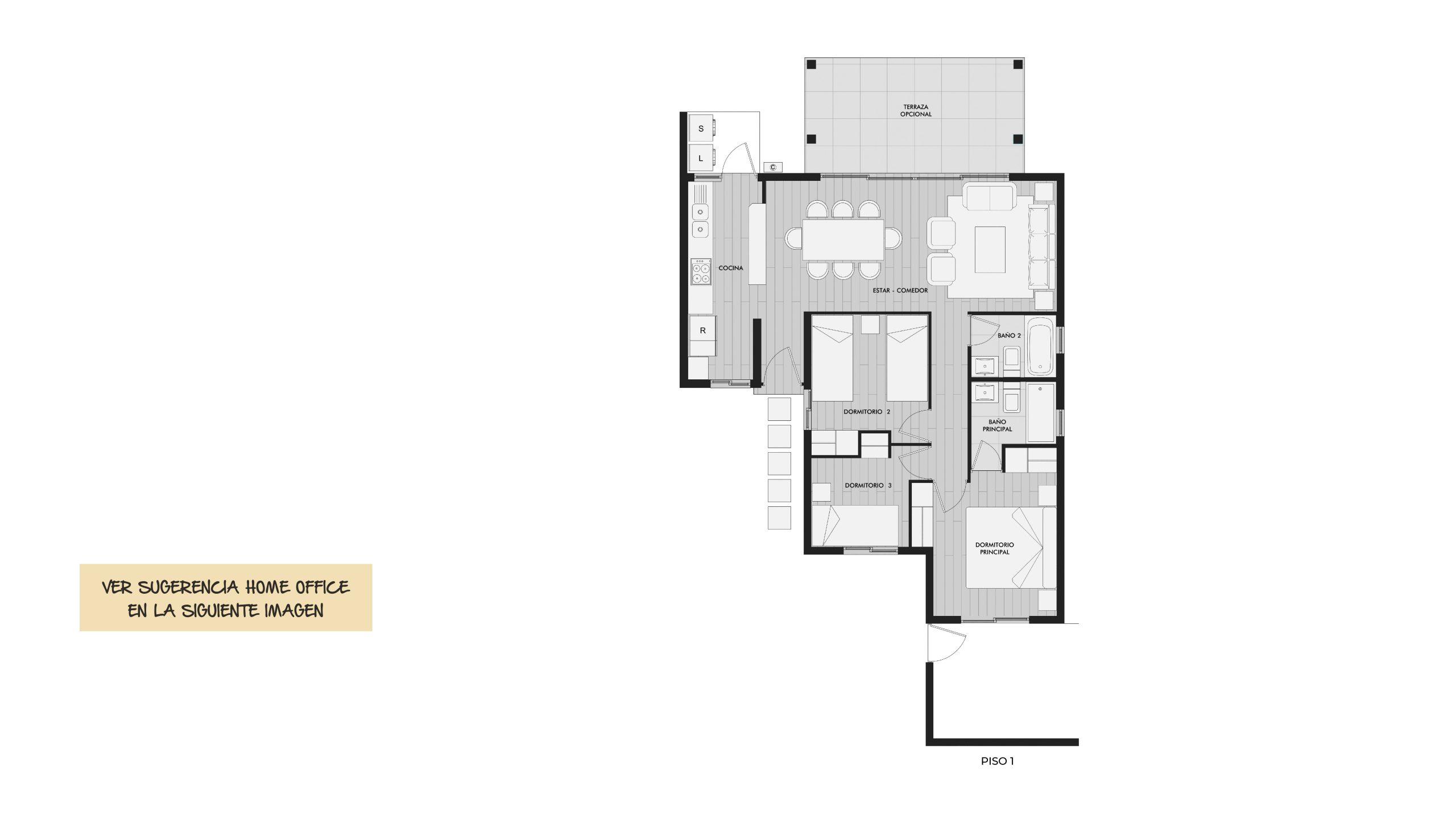 Condominio Aires de Tuqui II - Casa Limarí