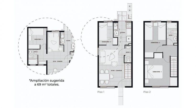 Los Clarines IX - Casa 57 MB