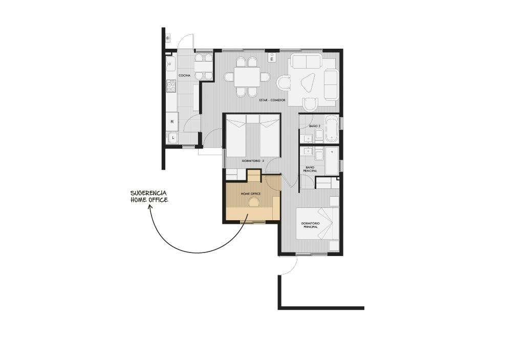 Condominio Los Avellanos - Casa Coigue