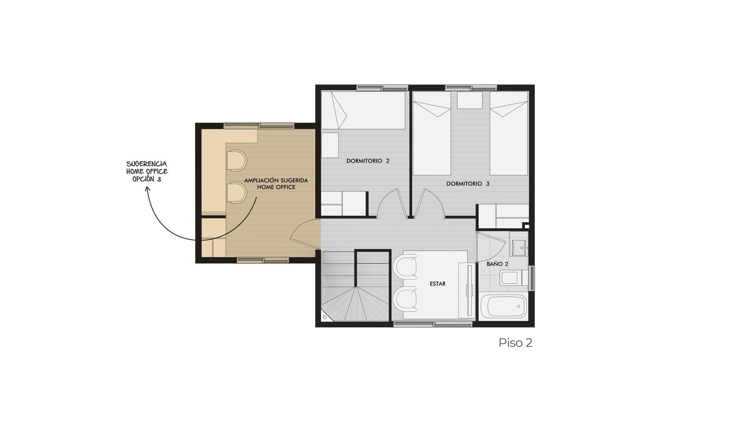 Condominio Los Avellanos - Casa Roble