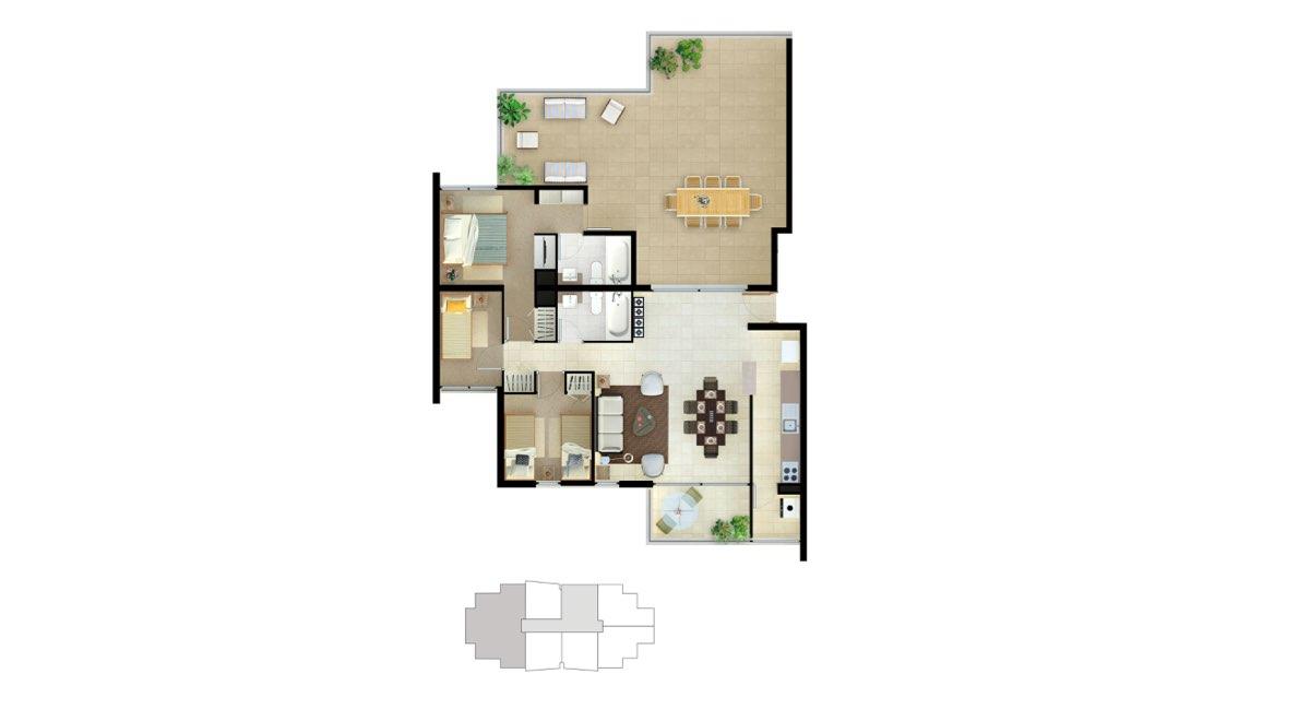 Edificio Matta - Departamento D - 119 mts