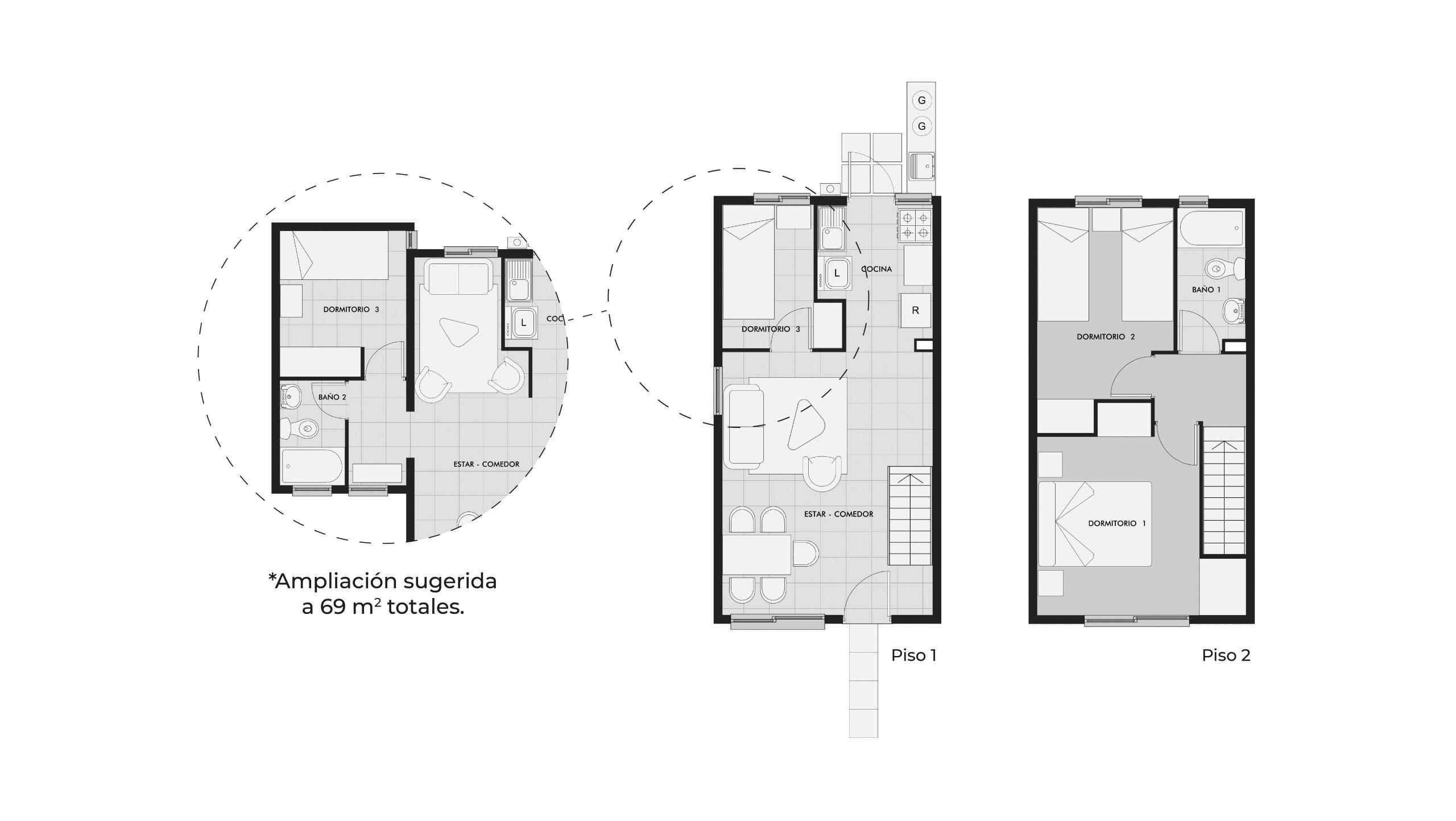 Los Clarines IX - Casa 57 M