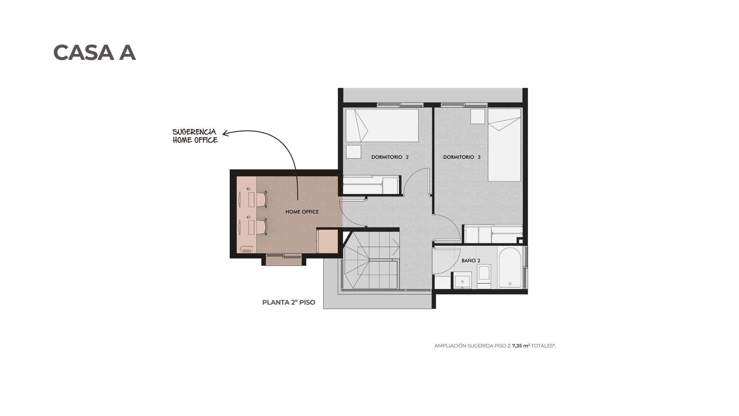 Condominio Los Almendros-Casa A