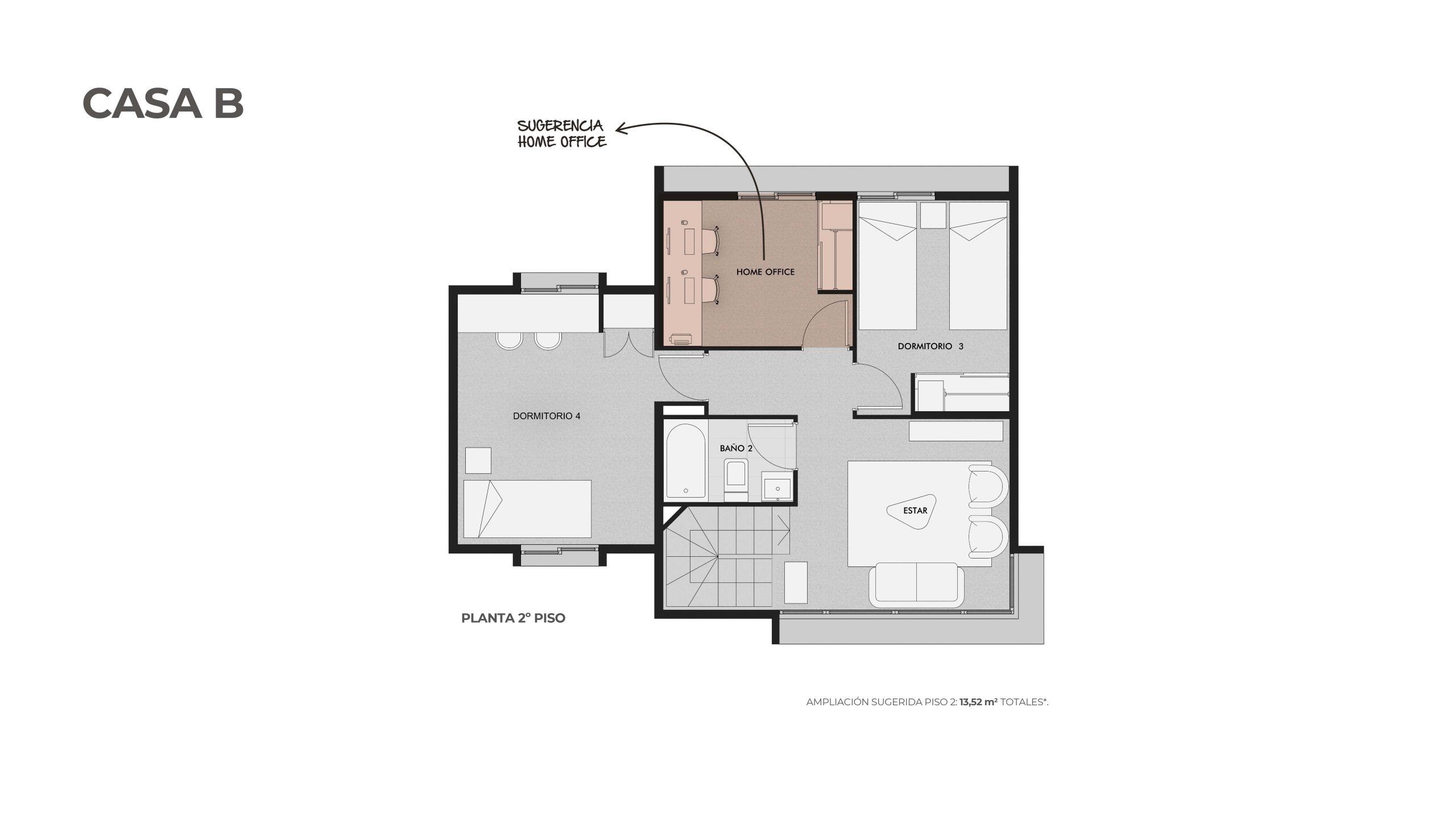Condominio Los Almendros-Casa B