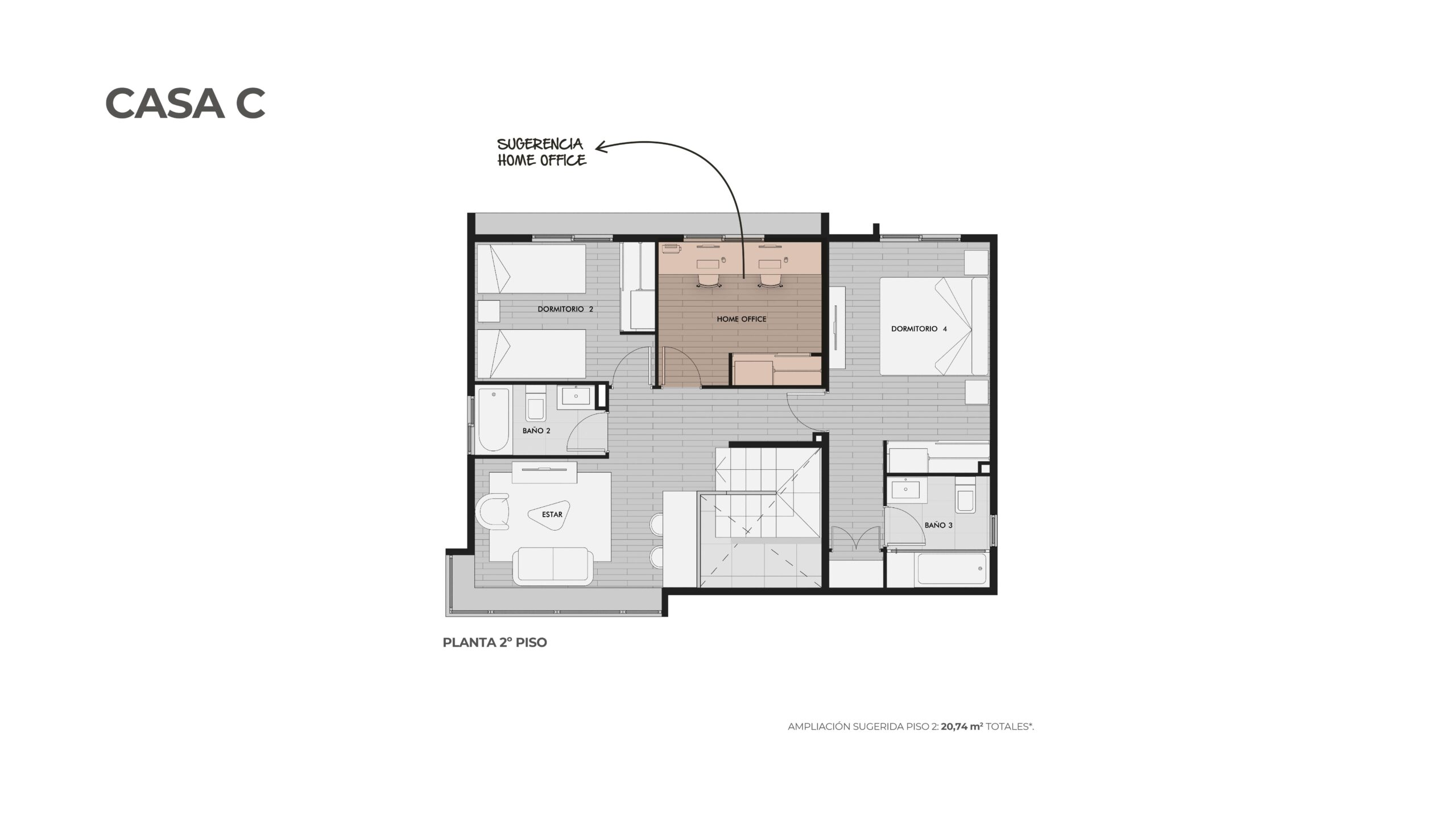 Condominio Los Almendros-Casa C