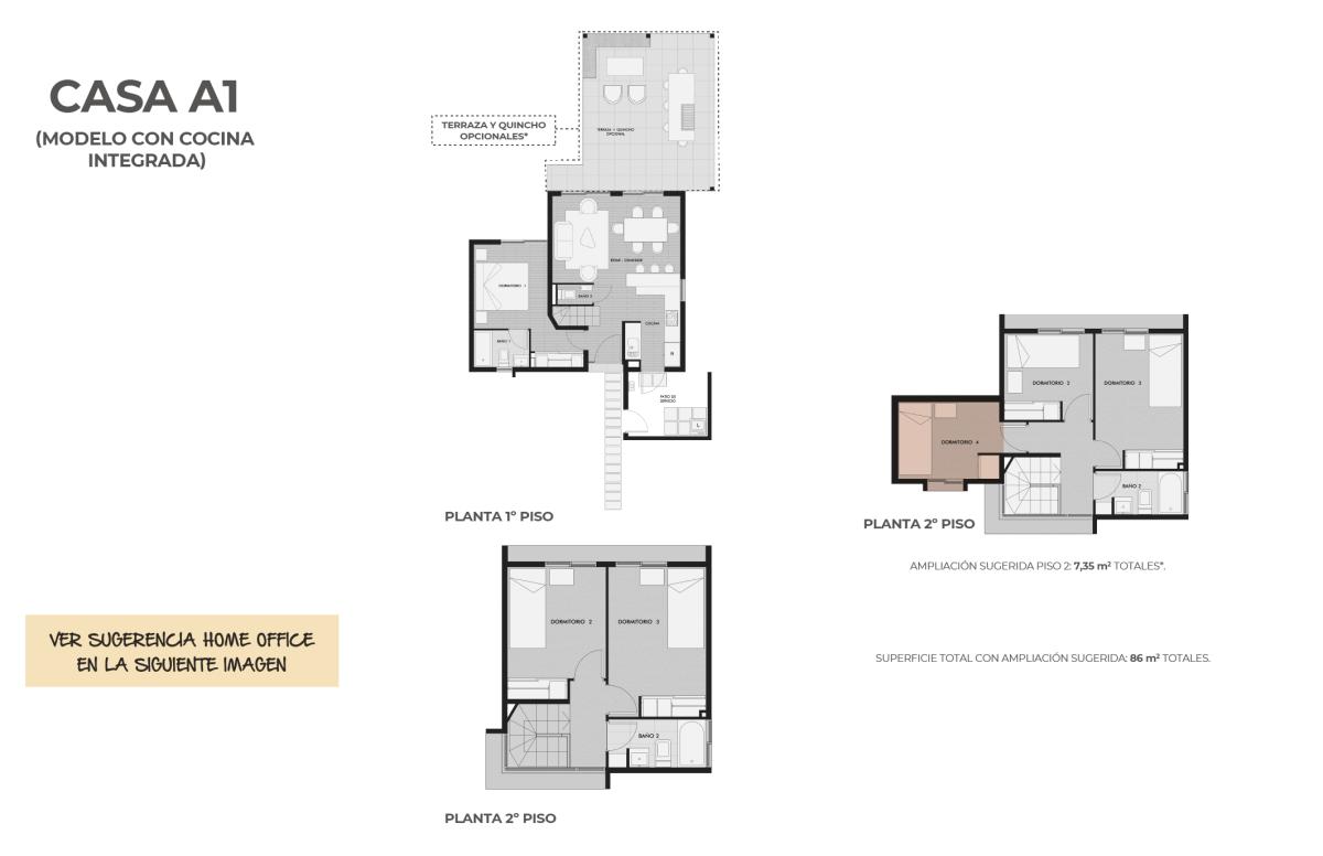 Condominio Los Almendros-Casa A1