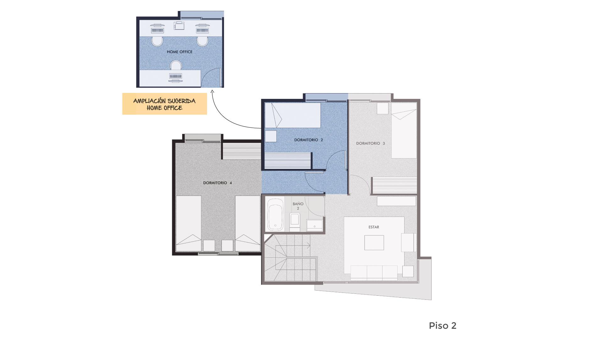 Condominio Camino El Retiro II Casa Alborada 93 mts