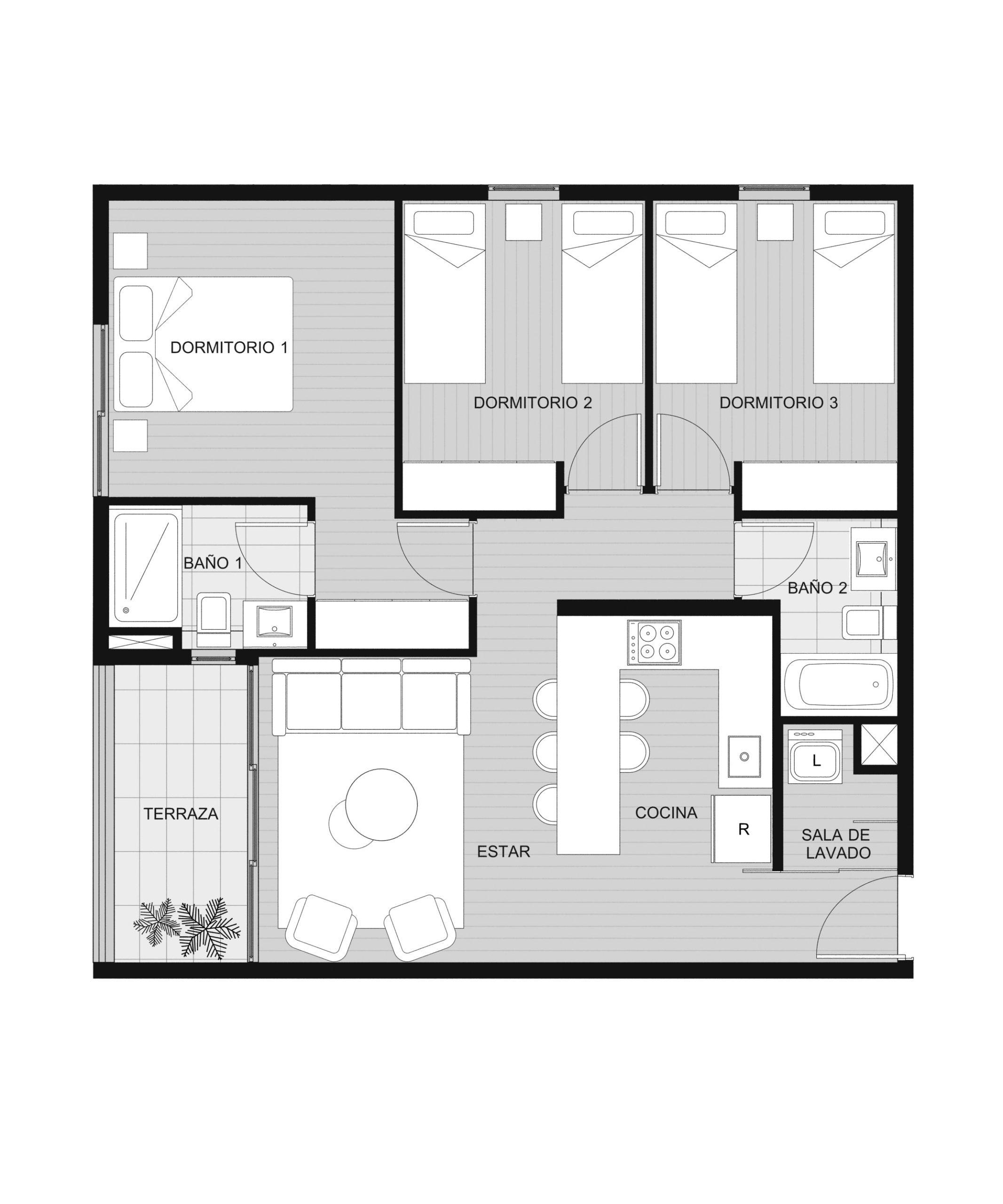 Condominio Playa Blanca - Depto A